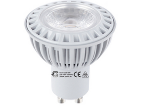 Global GU105W GU10 Led svetilka (GU10, 346 Lm, 3.000K, 5W, tople bele barve)