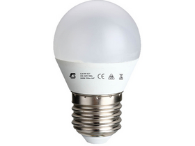 Bec Global P45/G45E27 5W E27 Led (E27, 400 Lm, 3.000K, 5W, alb cald)