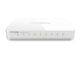 D-link GO-SW-8G 8 Port Gigabit 8 Tisch Switch