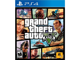 Grand Theft Auto V EN (GTA V) PS4