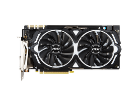 Placa video MSI nVidia GTX 1080 8GB GDDR5X Armor OC  - GeForce GTX 1080 ARMOR 8G OC
