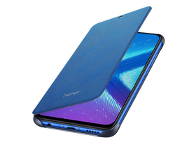 Honor 8X Flip Cover tok, kék