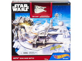 Hot Wheels Star Wars Echo Base Battle sada
