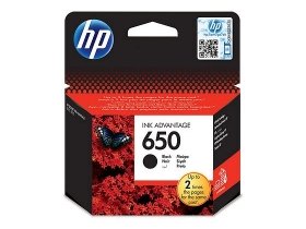 HP 650 Ink Advantage (CZ101AE) črna kartuša