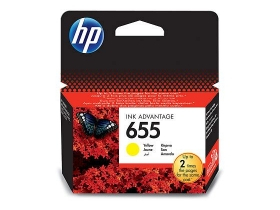 HP 655 Ink Advantage (CZ112AE) sárga tintapatron
