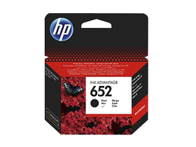 HP Ink Advantage 652 črna kartuša (F6V25AE)