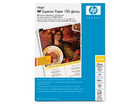 HP Superior Inkjet Glossy Paper, A4 , 180 g/m2
