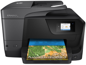 Imprimanta multifunctionala, jet de cerneala HP Officejet Pro 8710 wifi (FAX)