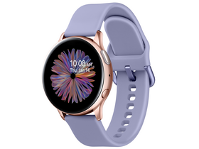 Samsung Galaxy Watch Active 2 okosóra (40mm, Aluminium), lila-rózsaarany