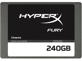 "Kingston HyperX Fury 240GB 2,5"" SATA3 SSD (SHFS37A/240G)"