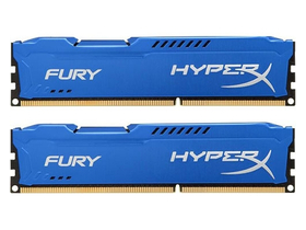 Памет кит Kingston (HX318C10FK2/8) HyperX Fury 8GB 1866MHz DDR3