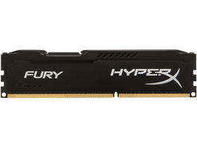 Памет Kingston (HX316C10FB/4) HyperX Fury Black 4GB 1600MHz DDR3