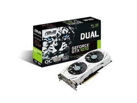 Placa video Asus nVidia Dual GTX 1070 8GB GDDR5  - DUAL-GTX1070-O8G