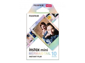 Fujifilm Colorfilm Instax Mini Glossy Film, Mermaid Tail, 10 Stk.