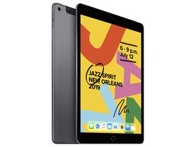 "Apple iPad 7 (2019) 10.2 ""Wi-Fi + Cellular 32GB, астро сив (mw6a2hc / a)"