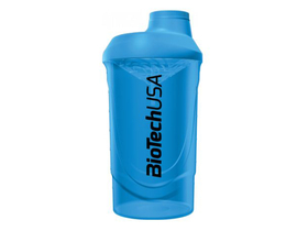 BioTech USA Modrý Wave Shaker, 600 ml