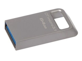 Kingston DataTraveler micro 64GB USB 3.1 pendrive, ezüst (DTMC3/64GB)