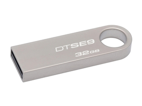 Kingston DataTraveler SE9 32GB USB 2.0 fémházas, pendrive, ezüst (DTSE9H/32GB)