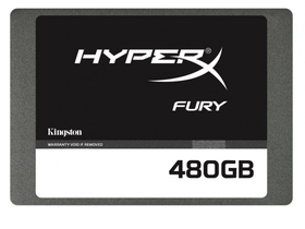 "Kingston HyperX Fury 480GB 2.5"" SATA3 SSD(SHFS37A/480G)"