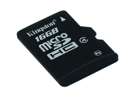 Card memorie Kingston microSDHC 16GB Class4