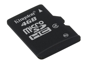 Kartica Kingston microSDHC 4 GB Class4