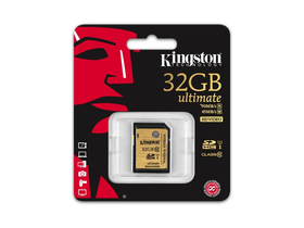 Kingston SDHC kártya 32GB Class10 UHS-I Ultimate