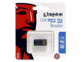 Kingston USB microSD/SDHC Reader, USB 2.0 (FCR-MRG2)