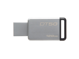 Kingston DataTraveler 50 128GB  USB 3.0 pendrive, ezüst (DT50/128GB)