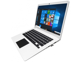 Alcor Snugbook Q1421 14.0˝ notebook, бял+ Windows 10 Home