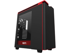 Carcasa PC NZXT H440 Mid Tower (fara sursa) ATX, panou transparent