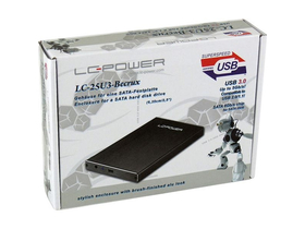 Carcasă HDD LC Power LC-25U3-Becrux 2,5""