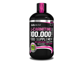 BioTech USA L-Carnitine 100.000 Liquid, 500 ml, jablko