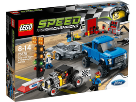 LEGO® Speed Champions Ford F-150 Raptor şi Ford Model A Hot Rod 75875
