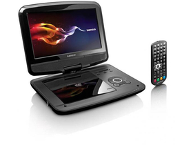 DVD player portabil Lenco DVP-9412 9""