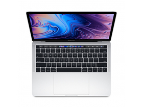 "Apple MacBook Pro 13"" Touch Bar/2.4GHz/Intel Core i5/256GB/ntel Iris Plus Graphics 655/magyar (HUN) bill., silver"
