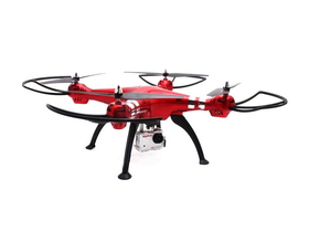 Drona  Syma X8HG/quadcopter 2.4Ghz 4, giroscop + Camera 8MP ( rosu)