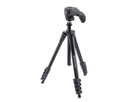 Manfrotto MKCOMPACTACN-BK Compact Action, schwarz