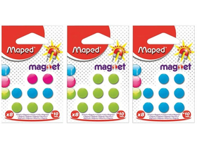 Maped Okrúhly magnet, 10 mm, 8 ks/blister
