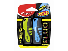 "Textmarker  Maped ""Fluo Peps Pocket Soft"", 2 buc."
