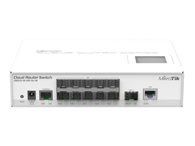 MikroTik CRS212-1G-10S-1S+IN 1x RJ45 10x SFP GbE 1x SFP+ 10GbE port Cloud Router Switch