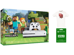 Xbox One S 500 GB Minecraft konzola