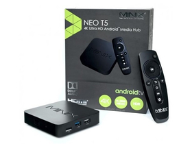 MINIX NEO T5 Médialejátszó Quad-Core Media Hub, 16GB, Android TV OS
