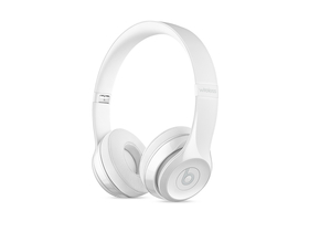 Casti wireless Beats Solo3, alb lucios