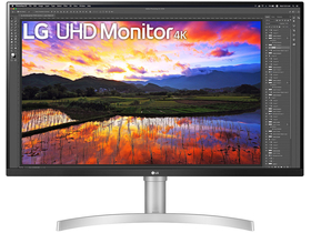 "LG 32UN650-W 32"" UHD IPS LED monitor"