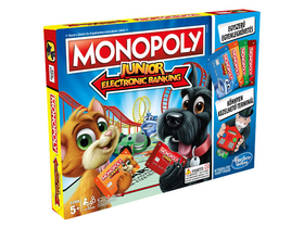 Monopoly Junior - Electronic Banking  Brettspiel