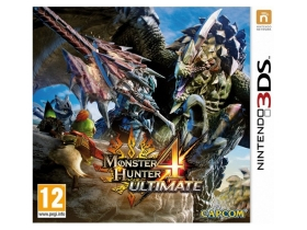 Monster Hunter 4 Ultimate 3DS játék