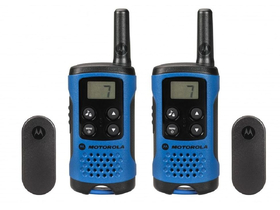 Motorola TLKR T41 Walkie-Talkie, blue