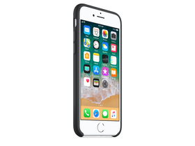 Apple iPhone 8 / 7 szilikontok, fekete (mqgk2zm/a)