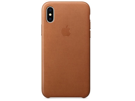 Apple iPhone X kožna futrola, crvenkasto smeđa (mqta2zm/a)