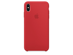 Husa silicon Apple iPhone XS Max  (mrwh2zm/a), red